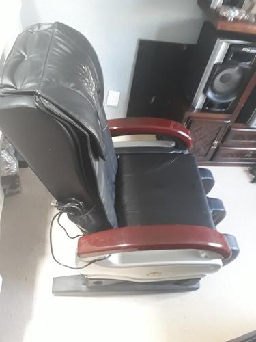 sillon de masajes con control de nivel