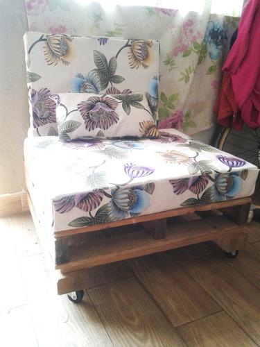 sillón de palet