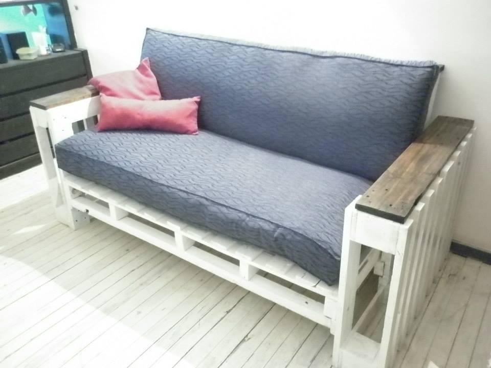 Como se hace un sofa de palets renatodecoracioncom youtube - Como hacer un sofa con palets ...