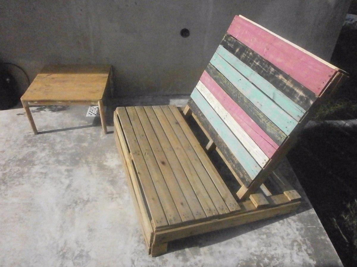 Bonito sillones de palets de madera fotos ideas de for Sillones para exterior con palets