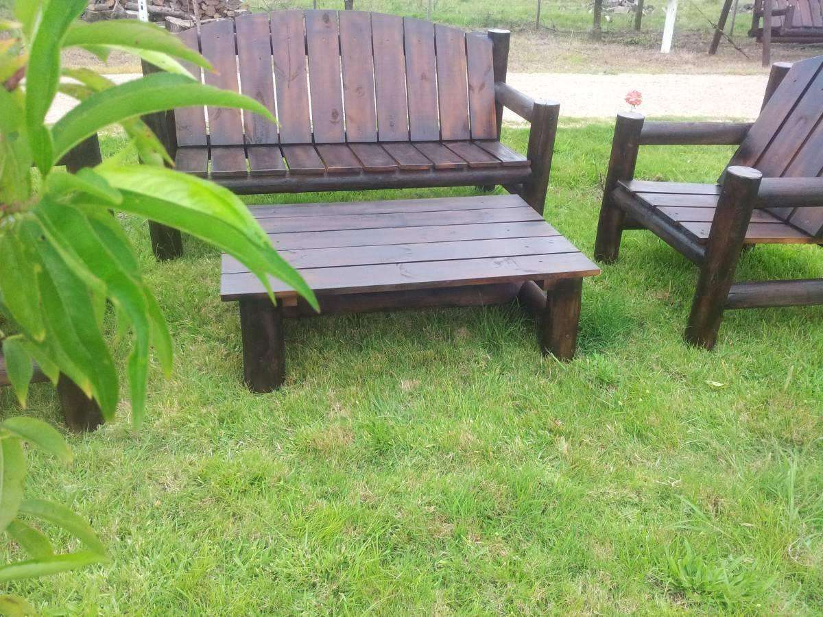Sillon de tronco para jardin barbacoa o piscina - Sillon de jardin ...