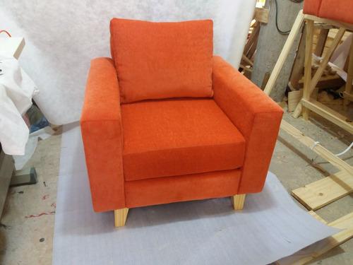 sillón de un  cuerpo chenille