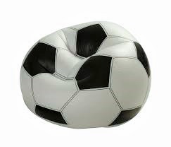 sillón descanso balón fútbol inflable 68557 intex silla puff