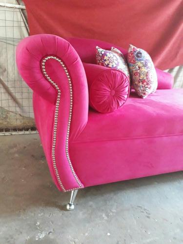 sillon divan 2 cuerpos oferta unica en pana o ecocuero promo