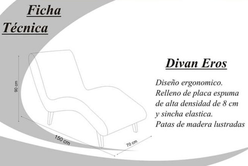 sillon divan relajacion relax moderno tapizado chenille