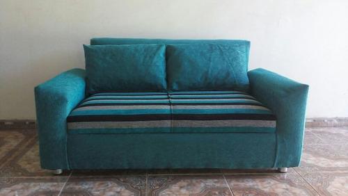 sillón dos cuerpos italian kubic en chenille