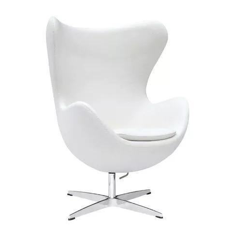 De Egg Chair.Sillon Egg Chair Ecocuero De Arne Jacobsen Importado 23 387 00