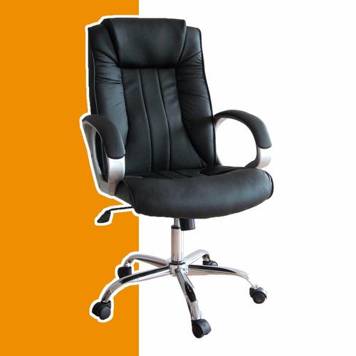 sillón ejecutivo gerencial de oficina o pc silla con ruedas