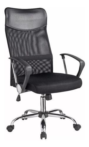 sillon ejecutivo respaldo alto, silla escritorio pc baires 4