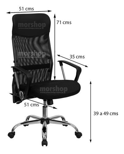 sillon ejecutivo silla de oficina regulable pc escritorio