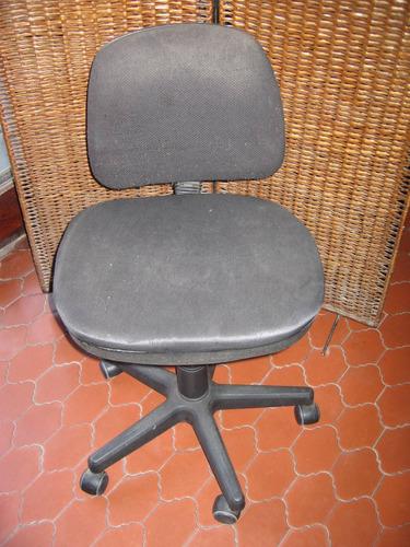 sillon escritorio ,pc ,tapizado en tela