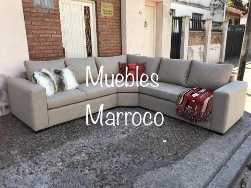 sillón esquinero 5 cuerpos 3.00 mts x 3.00 mts 3 modulos !