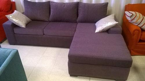 sillon esquinero reversible rinconero sofa chenille