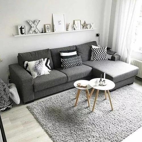 sillon esquinero rinconero living sofa 2.20 x 1.50 chenille