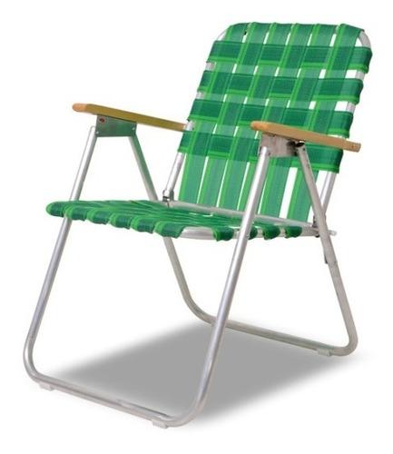 sillón fijo de aluminio solcito