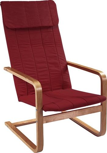 sillón flex bordeaux silla asiento livings divino