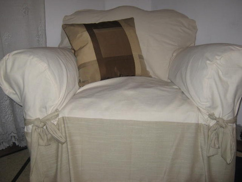 sillon forro, puff en lino, tela tapiceria,
