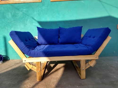sillon futón,sofa cama, tamaño individual.