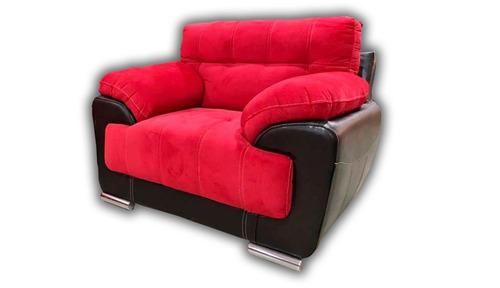 sillón galaxy varios tapizados y colores sala salas