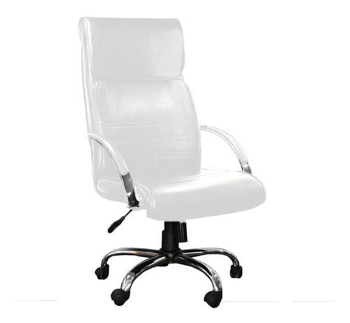 sillón gerencial mito cromado - sale homeoffice white editio