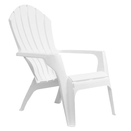 sillón grande garden life miami plástico blanco 85-1257