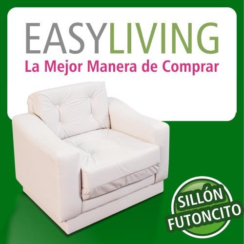 sillón individual de 1 cuerpo modelo futoncito