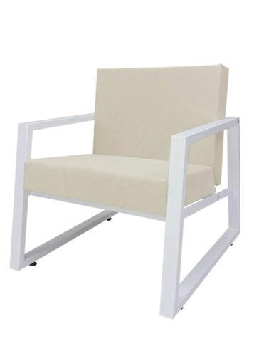 sillón individual moderno tapizado ghor i