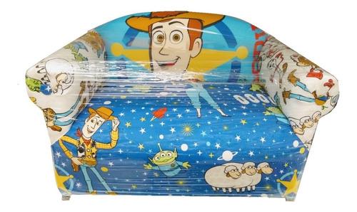 sillon infantil doble personaje disney mickey toy story