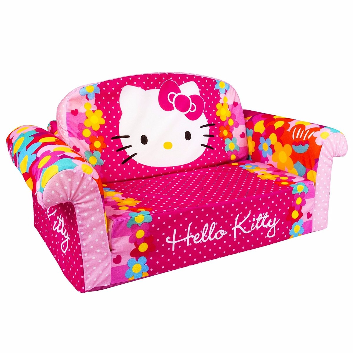 Sillon Infantil Sofa Cama Hello Kitty Ni 241 A Juguete