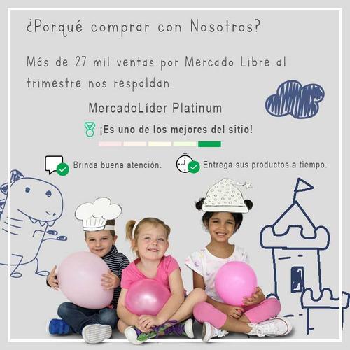 sillon inflable hipopotamo para niños color azul vinil intex