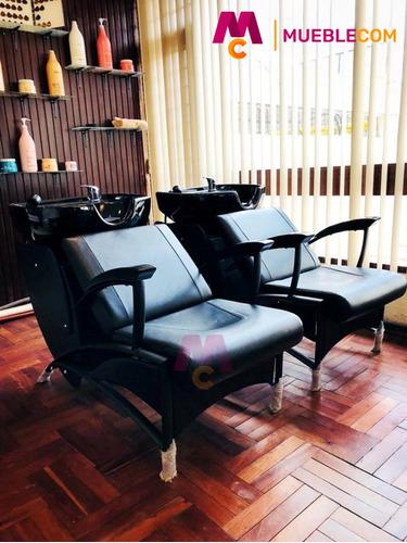 sillón lavacabezas peluquería spa belleza mónaco incl. iva