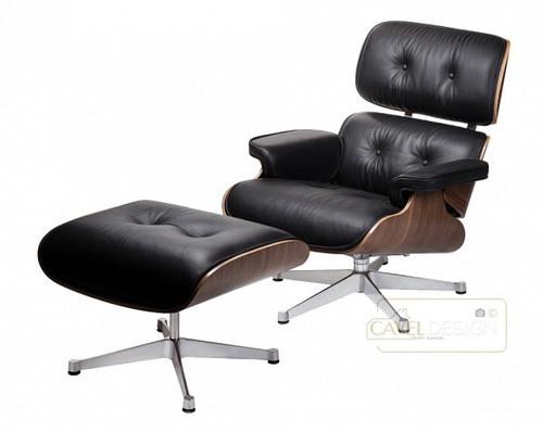 sillón lounge diseñado por charles & ray eames
