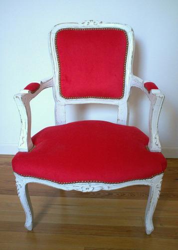 sillón luis xv