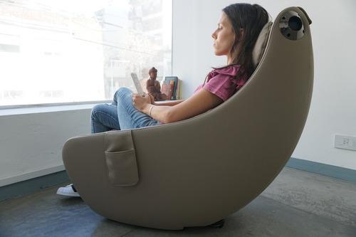 sillón masajeador caliber sonic 3d bluetooth 4 colores