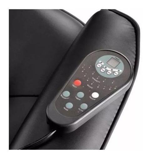 sillon masajeador relax 8 motores calor relax 5 intensidades
