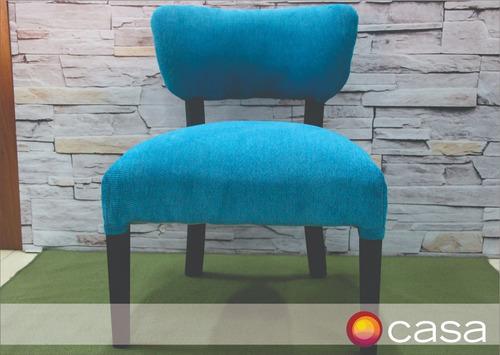 sillon matero tapizado en chenille