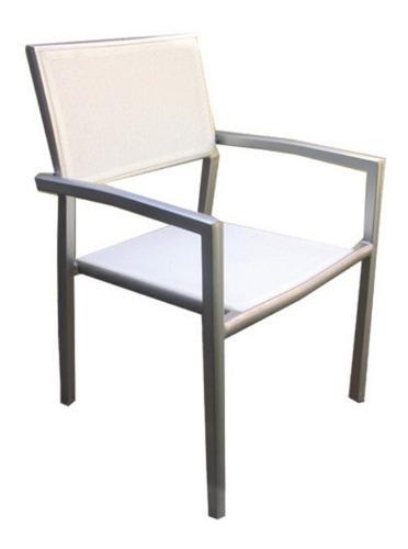sillón midas blanco