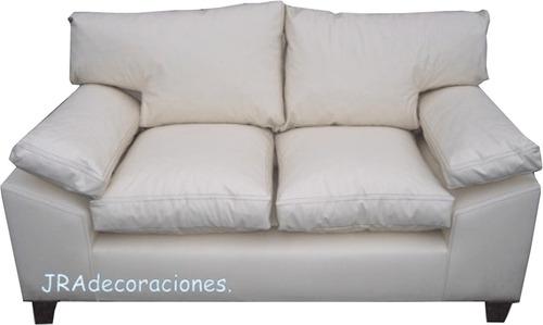 sillon modelo italiano 3 cuerpos, tapizado en ecocuero!!!