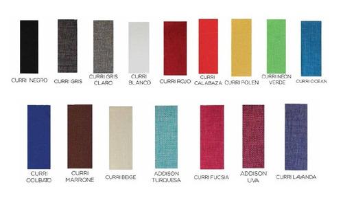 sillon moderno tapizado tela modelo california by promöbel