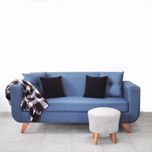 sillón orlando 1,80 mts tela elección metrocuadrado