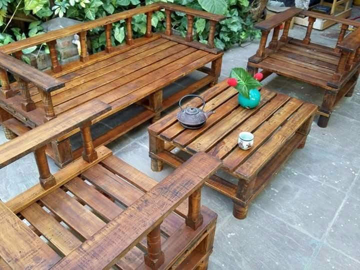 Sillones De Palets De Madera Beautiful Sillones De Palets Para - Sillones-de-palets-de-madera