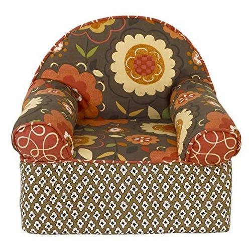 sillón para niñas de flores