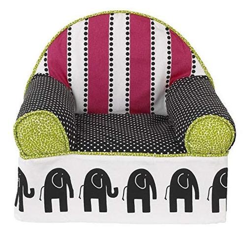 sillón para niños de elefantes