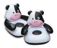 sillon para niños inflable vaca. liquidamos