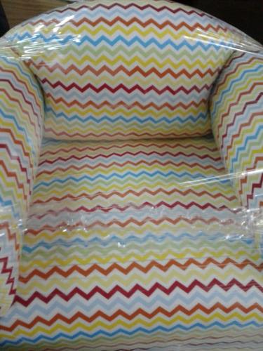 sillon para niños super acolchados, hermosos! dia del niño