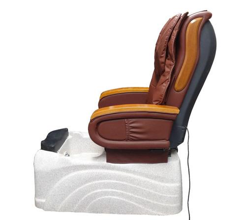 sillon para pedicure spa masajeador de espalda e hidromasaje