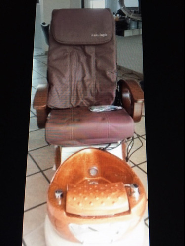 sillón pedicure spa