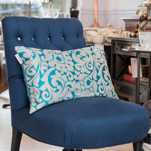 sillon petite azul decoración tienda bristol