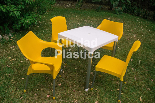 sillon plástico apilables reforzadas diseño sillón rubí