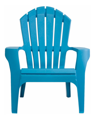 sillón plástico garden life miami celeste